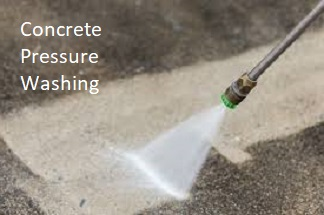 Extend the life of concrete driveways and walkways by pressure